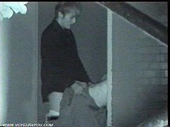 คลิปโป๊xxหนุ่มนักธุรกิจญี่ปุ่นแอบเย็ดหีแฟนสาวที่ซอกตึกตอนกลางคืนโดนกล้องอินฟราเรดแอบถ่าย