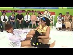 หนังเอ็กซ์ญี่ปุ่น Game Show ใครทำให้อีกฝ่ายน้ำเงี่ยนแตกได้ก่อนชนะไปเลย
