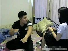 หนังโป๊ดูฟรี คลิปหลุดคนไทยคู่รักนักศึกษาไทยตั้งกล้องเอากันในหอ xxxเย็ดกันอย่างมนส์กระเด้าหีอย่างเสียว